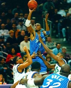 8ca0a6d608d Anfernee Hardaway Orlando Magic Nba Players, Basketball Players, Soccer,  Basketball Pictures, Nfl