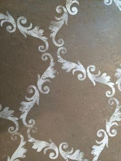 floors stenciling plywood chalk paint annie sloan, chalk paint, diy, flooring, painting, woodworking projects