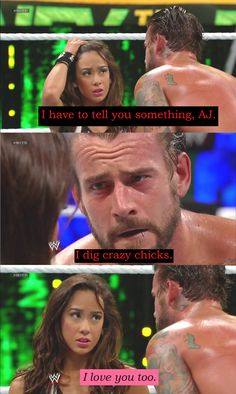 wwe aj lee wedding pictures cm punk   In honor of CM Punk and AJ Lee's engagement and soon to be nuptials ...