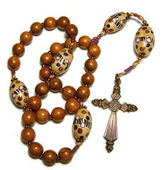 Anglican Protestant Rosary Prayer Beads by SweetchildJewelry