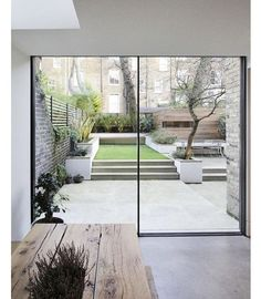 Indoor / Outdoor living at its finest #architecture #design #decor #interiors #interiordesign #style #love #luxe #modern #minimaliast #glass #wood