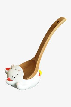 Lucky Cat Spoon Holder