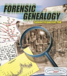 """Several newsletter readers have recently asked, """"What is Forensic Genealogy?"""" The word """"forensic"""" means """"relating to the use of science or technology in the investigation and establishment of facts. Genealogy Search, Genealogy Sites, Family Genealogy, Ancestry Websites, Genealogy Forms, Family Roots, All Family, Family Trees, Graham"""