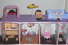 DIY: Boş Uğraşlar Müdürü - Barbie Evi Yapımı
