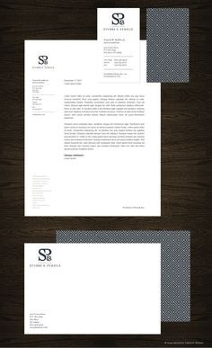 Stubbs & Perdue stationery package by Nina Randone, via Behance. Corporate Design, Graphic Design Branding, Identity Design, Business Card Design, Typography Design, Lettering, Business Cards, Corporate Style, Corporate Identity