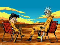 Breaking Morty or Ricky Bad or just Rick and Morty x Breaking Bad : rickandmorty Rick And Morty Drawing, Rick And Morty Tattoo, Wallpaper Pc, Cartoon Wallpaper, Rick And Morty Image, Rick And Morty Crossover, Ricky Y Morty, Rick And Morty Stickers, Rick And Morty Poster
