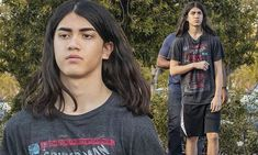 Blanket Jackson kept things casual as he made a rare public appearance, stepping out in Calabasas. He rocked a grey Spider-Man t-shirt while picking up a number of books at Barnes & Noble. Prince Michael Jackson, Jackson Family, Child Actors, Three Kids, My Crush, I Fall In Love, Future Husband, Mj, Spiderman