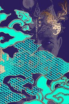 The Happy 8 // aqua & purple // Malaysian hotel brand ID concept // by Graphic Design Posters, Graphic Design Inspiration, Graphic Art, Illustration Design Graphique, Art Graphique, Graphisches Design, Asian Design, Gravure Illustration, Kirigami