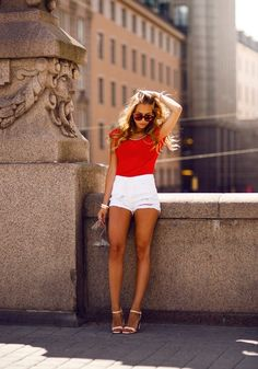 Outfit, shorts