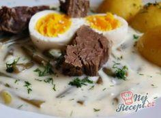 Recepty na omáčky - k masu nebo těstovinám | NejRecept.cz No Salt Recipes, Ham, Mashed Potatoes, Menu, Soup, Eggs, Treats, Snacks, Dishes