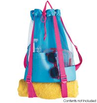 Mesh Backpack and Towel Storage http://www.youravon.com/davisgirls  $14.99