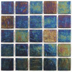Hakatai Enterprises A20 IR Tivoli Floor Tile, Indigo Blend (Set of 10) - ATG Stores