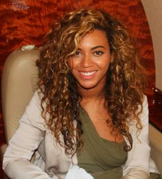 Beyonce curly @ mixed & biracial hair