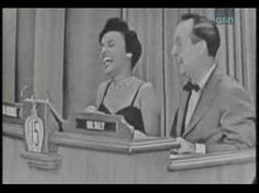 Whats my line? What's My Line, Line Game, Lena Horne, Looking Back, Black History, African, Stars, Tv, Amazing