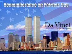 Happy Patriot Day from DaVinci's Family