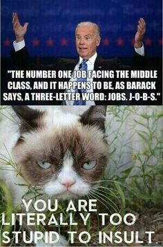 Cat nailed it. The smart one in the obama White House, he can't tell the difference between 3 and 4, but he does know how many states there are, and its not 57 as obama thinks, its obama's IQ that is 57.