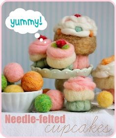 Adorable needle felting craft