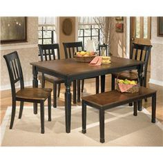 Holloway Dining Room Set FurniturePick Dining