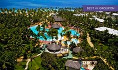 Groupon - All-Inclusive Catalonia Bavaro Beach Resort Stay in Punta Cana, with Dates into June. Taxes & Fees Added at Purchase.  in Punta Cana, Dominican Republic. Groupon deal price: $109