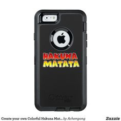Create your own Colourful Hakuna Matata #lovely #design #Achempong #Zazzle #Online #Shopping #Store #Gifts - #Shirts, #Posters, #Art, & #more #Gift #Ideas
