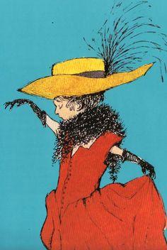 "Maurice Sendak from ""The Art of Maurice Sendak"" via sarah jane blog"