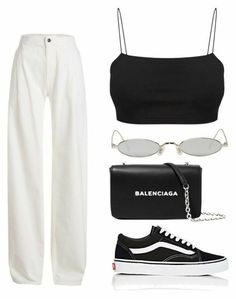 45 Brilliant Outfit Ideas With Vans To Copy Now Fila Shoes Outfit brilliant Copy ideas outfit Vans Teen Fashion Outfits, Retro Outfits, Cute Casual Outfits, Look Fashion, Stylish Outfits, Girl Outfits, Womens Fashion, Polyvore Outfits Casual, Fashion Ideas