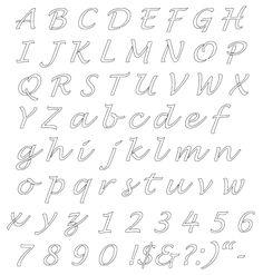 Printable Bubble Letters | Bubble letters, Bubbles and Printable ...
