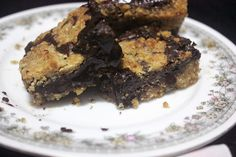 Gooey Chocolate Chip Cookie Dough Bars by yumsiliciousbakes, via Flickr