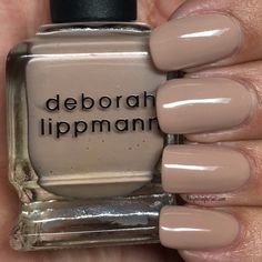 Happy National Nude Day 😉 Naturally I'm going to share with you some beautiful nude nail polish. I chose 3 different tones of nude polish because we all have different and beautiful skin colors. Some polish may look more… Continue Reading → Deborah Lippmann Nail Polish, Beautiful Nail Polish, Different Tones, Colorful Nail Designs, Nude Nails, Fair Skin, Nail Polish Colors, Nail Art, Day