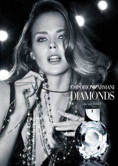 Shannan Click for Emporio #Armani Diamonds #Fragrance Campaign