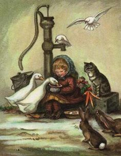 Tasha Tudor Christmas Card