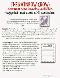 Native American Legends - Lesson Plans and Free Math Game