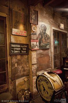 Preservation Hall  (Treme Brass Bands - LIonel Batiste's drum)