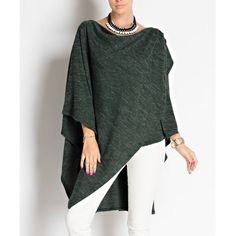 """Masque"" Draped Front Asymmetrical Top Draped front asymmetrical top. This contemporary piece will give an edge to your closet. Available in heather grey and hunter green. This listing is for the HUNTER GREEN. Brand new. True to size. NO TRADES DON'T EVEN ASK. Bare Anthology Tops Blouses"