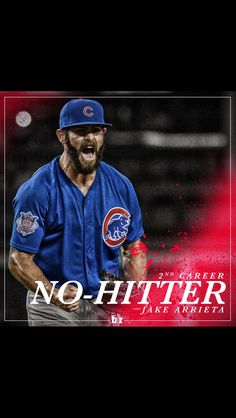Jake Arrieta is a freaking beast! #Cubs #Baseball