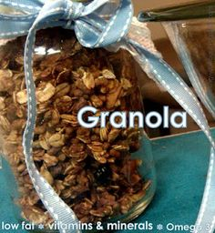 Flirting with Flour: Mega Fortified Low Fat Granola