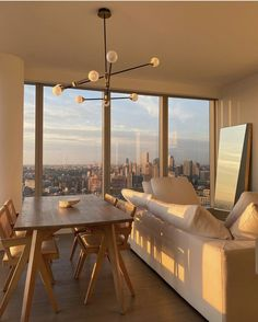 """🍃ً on Twitter: """"kind of apartment in New York… """" Dream Home Design, My Dream Home, House Design, Dream Life, Apartamento New York, Dream Apartment, Apartment Goals, Apartment View, New York Apartment Luxury"""