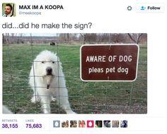 This warning sign: