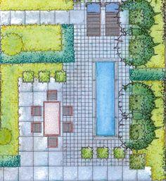Voorbeeld tuinontwerp 3