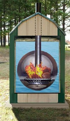 9 best wood burning furnace images on pinterest wood oven outdoor