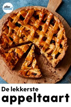 Dutch Recipes, Tart Recipes, Baking Recipes, Sweet Recipes, Sweet Bakery, Pie Cake, Cookie Desserts, Let Them Eat Cake, Food Inspiration