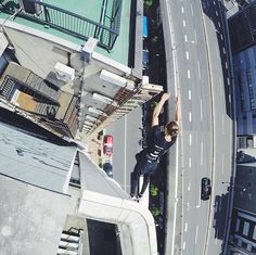 Storror Parkour | Today  #RoofCultureAsia tour, we celebrated it with a roof…