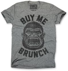 Lets say dinner and a movie goes well, the following day just might be brunch so be ready for the possibility of our Brunch Lovin' Regular Guy to wear this ultrasoft triblend Buy Me Brunch Shirt! #landingmrright #regularguy #vintageshirt