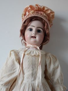 """24 1 2"""" French Doll by Rabery Delphieu Paris CA 1880 Jointed French Body 