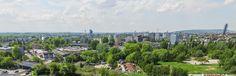 Mieszkanie w MOGILSKA TOWER to między innymi taki widok na centrum Krakowa. Użyliśmy drona, żeby sprawdzić jak będzie będzie się prezentować panorama na 14 piętrze. Na niższych piętrach też nie gorzej