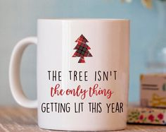Christmas Mug - Funny Christmas Mug - Christmas Gift - Hostess Gift - Funny Coffee Mug - xmas mug