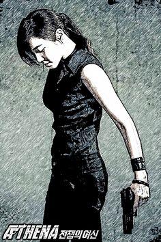 Athena: Goddess of War (2010) Korean Drama http://www.akiatalking.com/2014/12/athena-goddess-of-war-2010-db.html