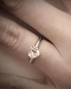 """See the """"Made with Love"""" in our Heart-Shaped Engagement Rings gallery"""
