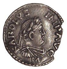 Charlemagne, my husband's ancestor.