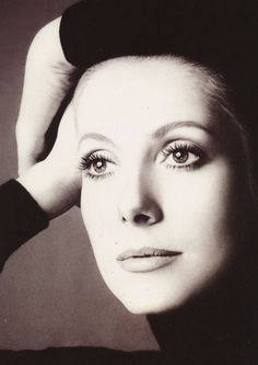 Catherine Deneuve for Chanel No. 5, 1972. Richard Avedon.